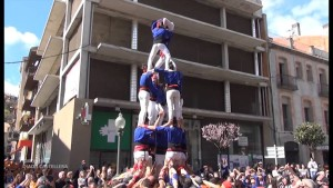 Castellers Sant Josep Gironella youtube com