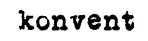 KONVENT logo