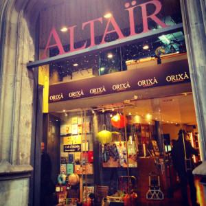 Llibreria Altaïr 2 façana