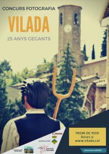Cartell Concurs Fotos 2017 Vilada