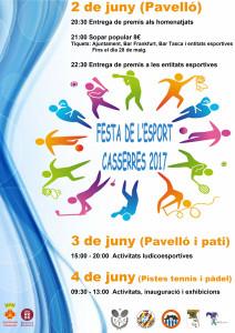 cartell2017 CASSERRES