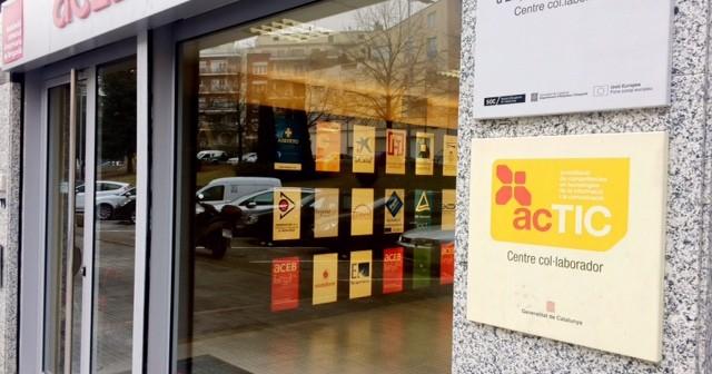 Façana ACEB centre col.laborador ACTIC