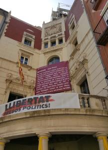 Façana AjBerga Sant Jordi 2018