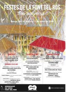 Cartell Festes Font del Ros 2018