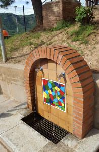 Font Escola Santa Eulàlia Berga