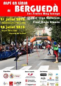 Cartell cursa 2018 Berga