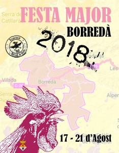 CARTELL FESTA MAJOR 2018 Basic