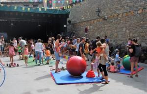 Festa Major Borredà Taller de circ