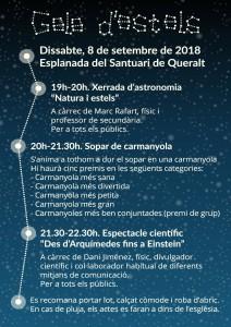 Postal Gala d'Estels 2018-2