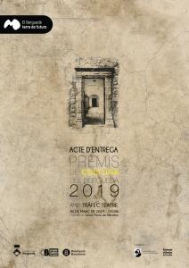 cartell acte premis cultura 2019