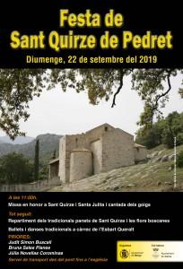 Sant Quirze de Pedret 2019