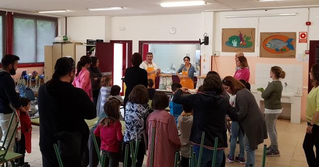 Taller de cuina - Escola de famílies de 2019