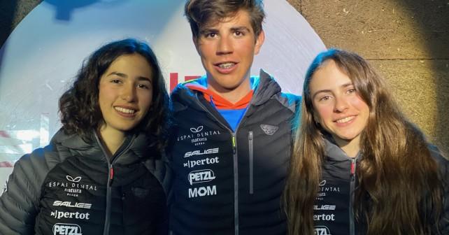 Ares Torra, Ot Ferrer i Maria Costa, els tres olímpics del Mountain Runners del Berguedà - Foto Quim Pons