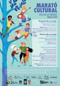 Cartell - Marató Cultural Berga 2020