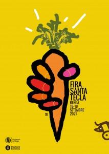 Cartell - Fira Santa Tecla 2021